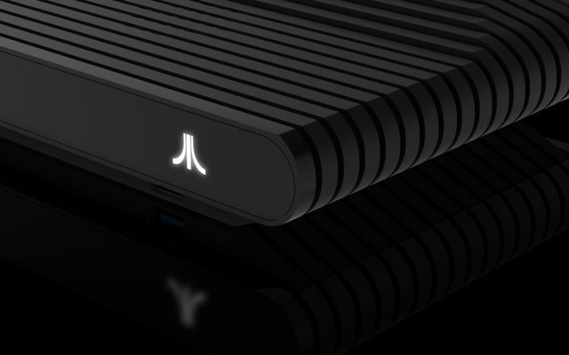 Logo della console Atari VCS