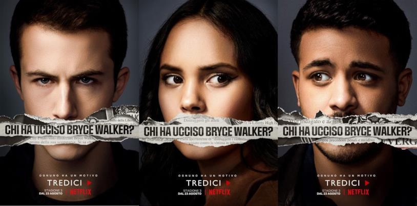 Tredici: i poster della stagione 3