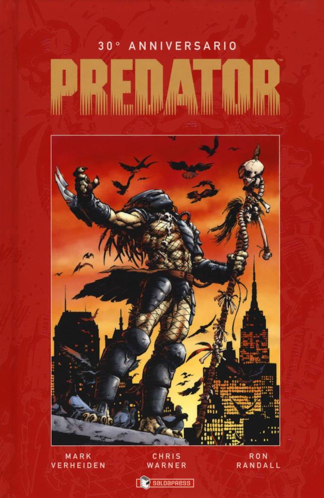 La copertina di Predator 30° Anniversario