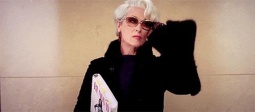 Miranda Priestly in Il diavolo veste Prada