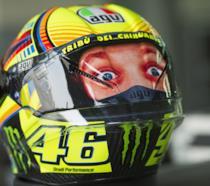 Il casco 2018 di Valentino Rossi