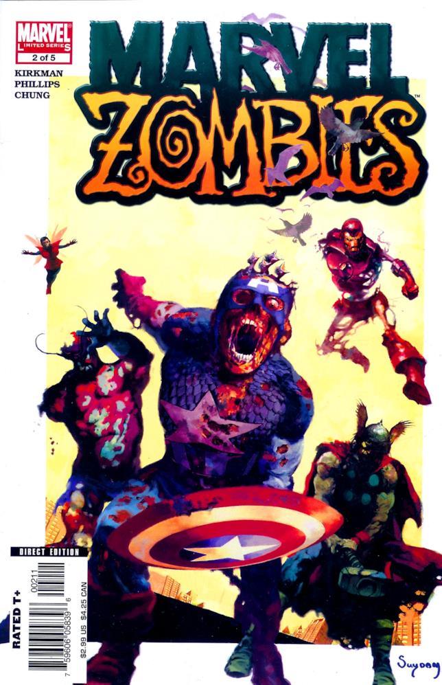 Marvel Zombies, Capitan America