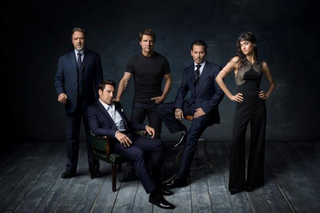 Il cast del Dark Universe in una prima foto ufficiale