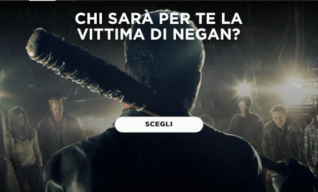 Chi è la vittima di Negan?