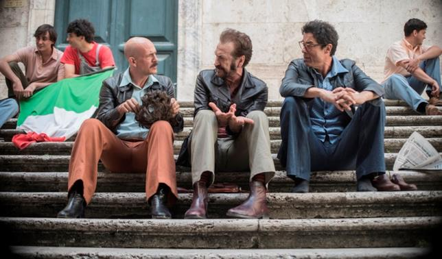 I tre protagonisti del film Non ci resta che il crimine