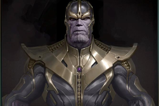 Un rendering di Thanos