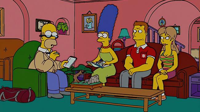 Marge e Homer Fanno Un Gioco Di Coppia, episodio 22 della stagione 17