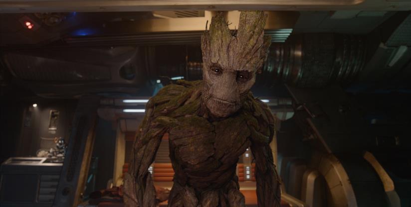Un'immagine del personaggio Groot