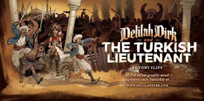 Scena di Delilah Dirk And The Turkish Lieutenant