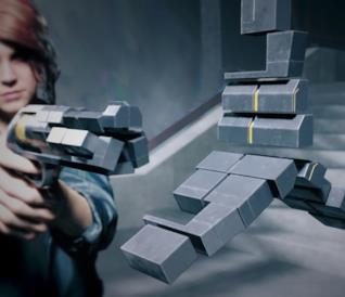 Un'immagine da Control, il più recente videogioco di Remedy