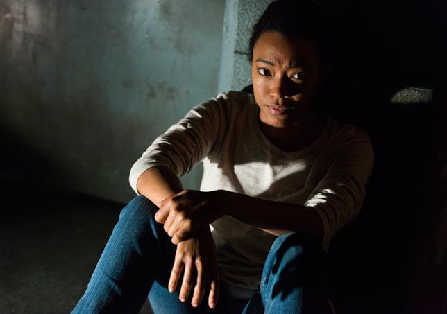 Sasha in un'iconica scena della serie