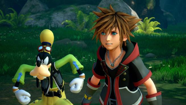 Pippo e Sora, due dei protagonisti di Kingdom Hearts 3