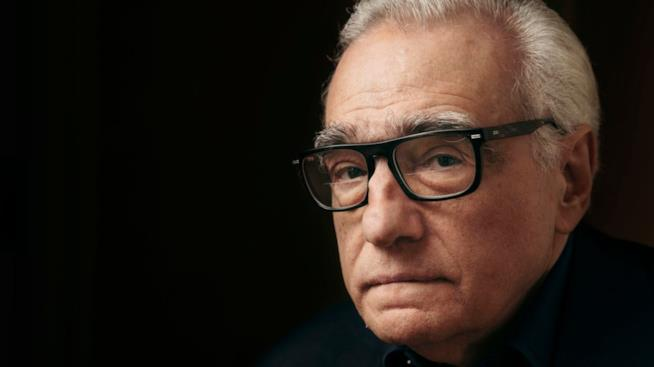 Uno scatto di Martin Scorsese