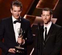 David Benioff e D.B. Weiss agli Emmy