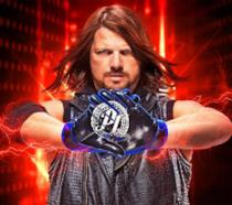 AJ Styles sulla copertina di WWE 2K19