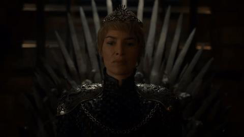 Cersei Lannister nella stagione 6 di Game of Thrones