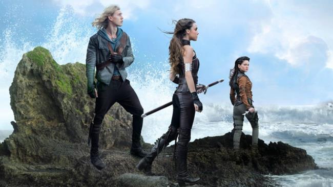 I protagonisti in una foto promozionale della serie