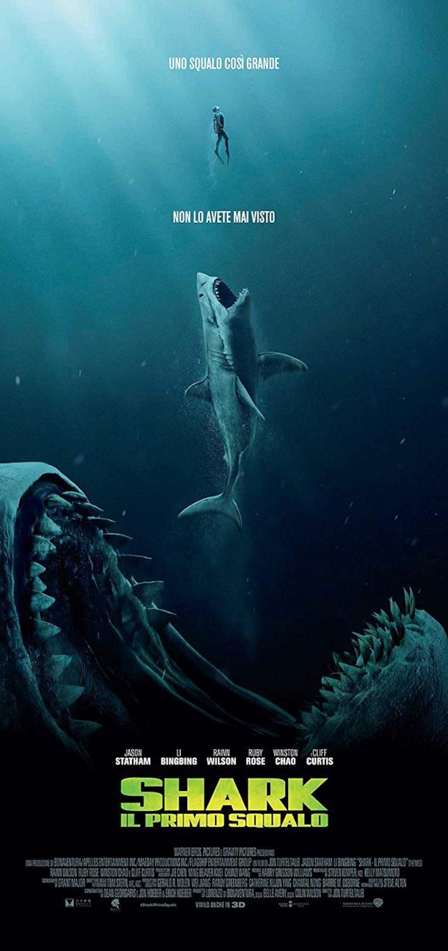 Shark - Il primo squalo Home Video