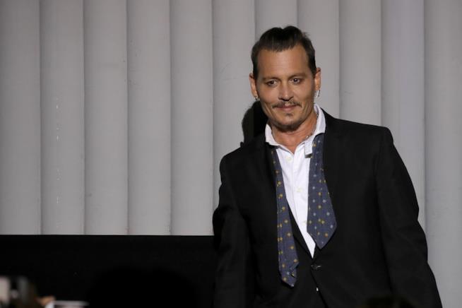 Johnny Depp durante una prèmiere