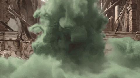 GIF di Mysterio ricavata dal primo trailer di Spider-Man: Far From Home