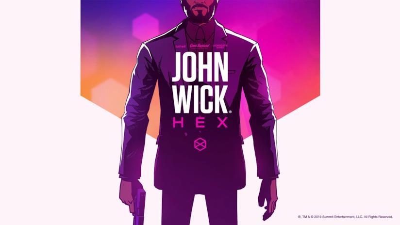 La cover ufficiale di John Wick Hex