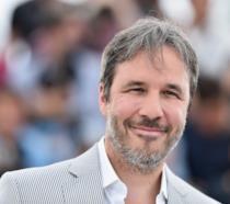 Un primo piano del regista Denis Villeneuve alla premiere di Sicario