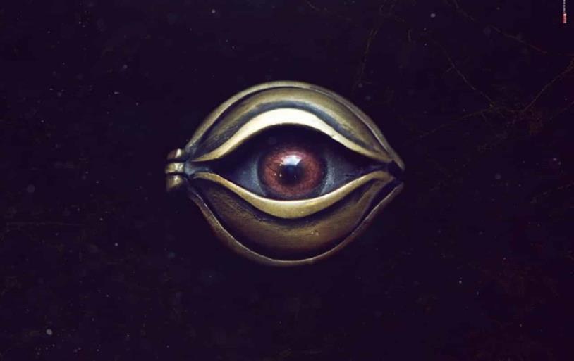 L'occhio in una scena di Napoli Velata