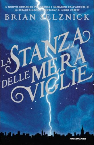 Copertina del libro di Brian Selznick La stanza delle meraviglie