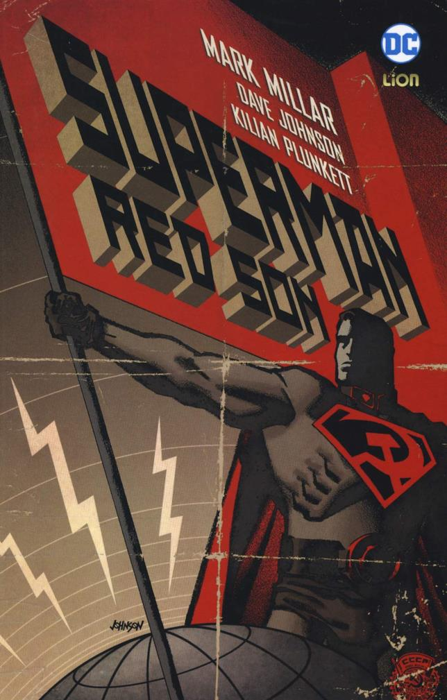 La copertina del fumetto Superman Red Son