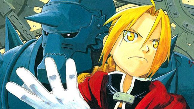 I fratelli Elric sulla copertina del manga di Hagaren