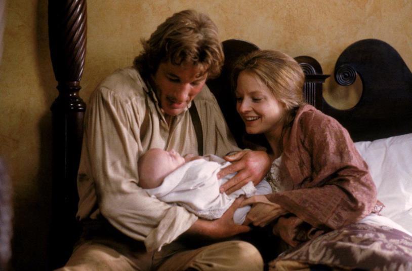 Richard Gere e Jodie Foster