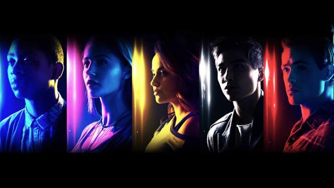 I cinque Power Rangers del reboot