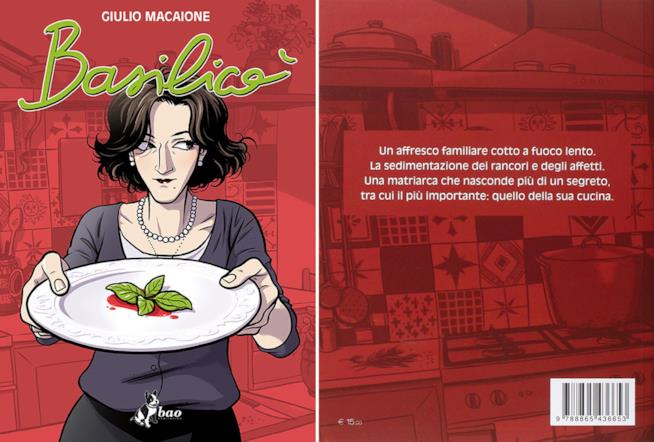 Maria Morreale sulla copertina di Basilicò, pubblicato da Bao Publishing
