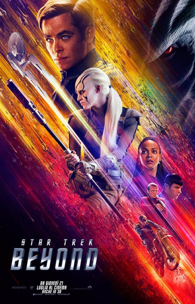 Ecco il nuovo poster italiano di Star Trek Beyond