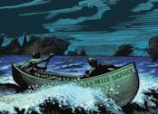 L'illustrazione della copertina de Il Libro della Polvere