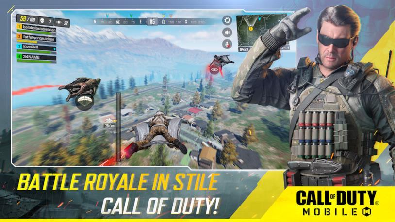Un'immagine promozionale di Call of Duty: Mobile