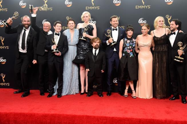 Gli attori protagonisti di Game of Thrones agli Emmy 2016