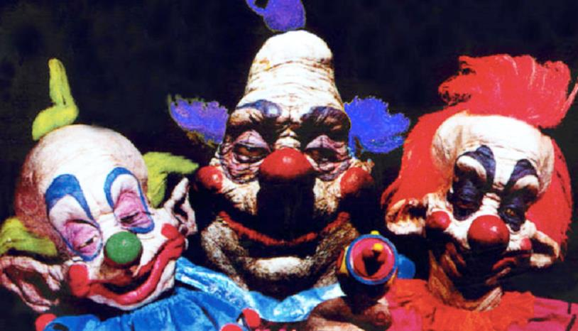 Tre clown alieni di Killer Klowns from Outer Space