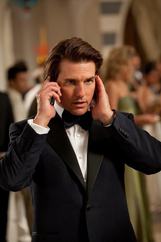 Tom Cruise in Mission: Impossible - Protocollo Fantasma