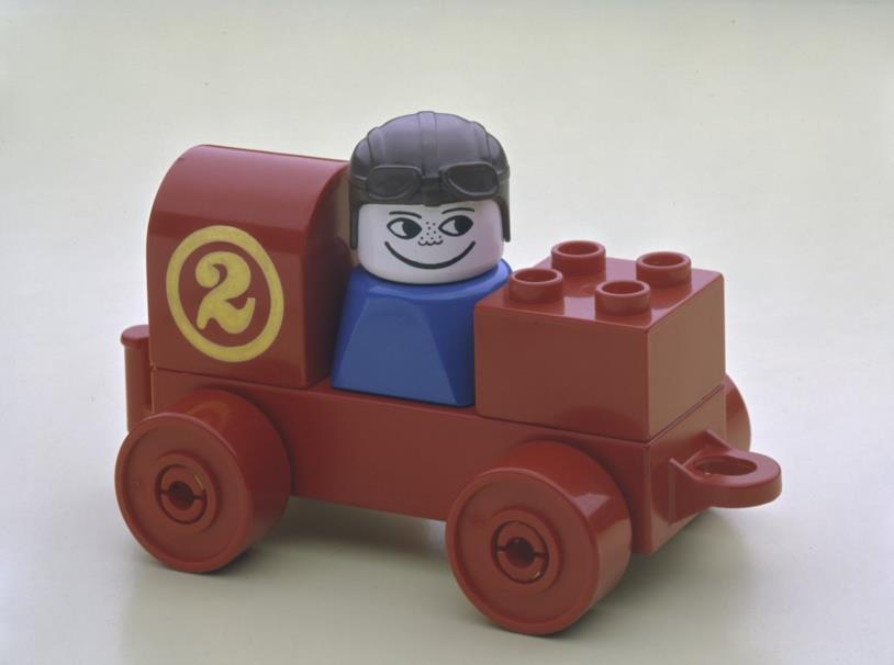 Uno personaggio LEGO Duplo degli anni '70