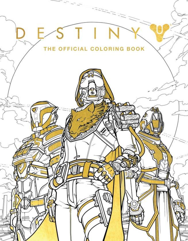 Un volume da colorare per l'uscita di Destiny 2