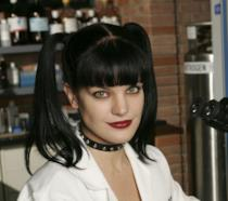 L'attrice Pauley Perrette, Abby Sciuto in N.C.I.S.