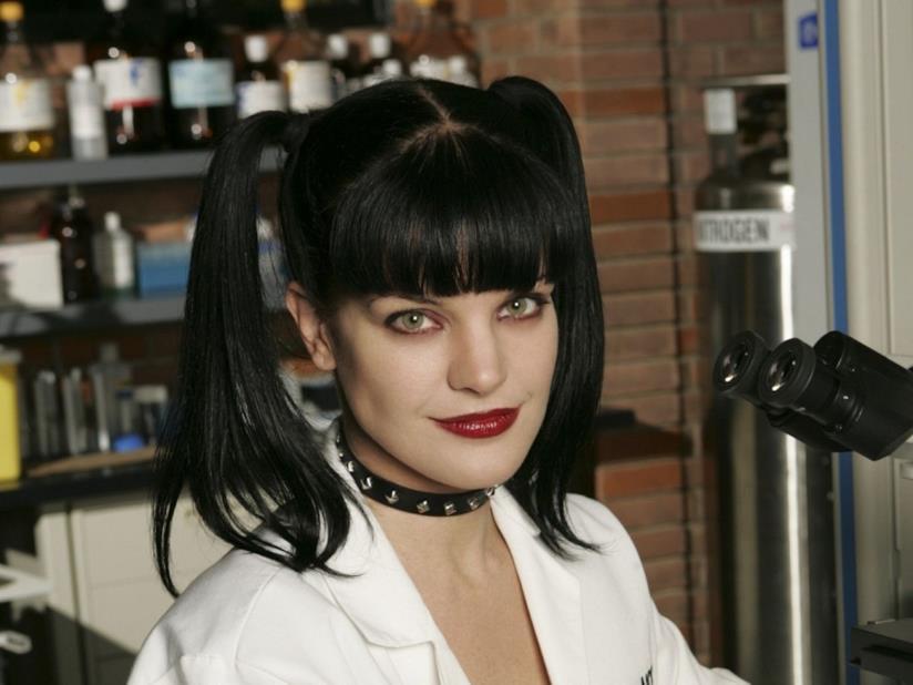 L'attrice Pauley Perrette, Abby Sciuto in N.C.I.S.