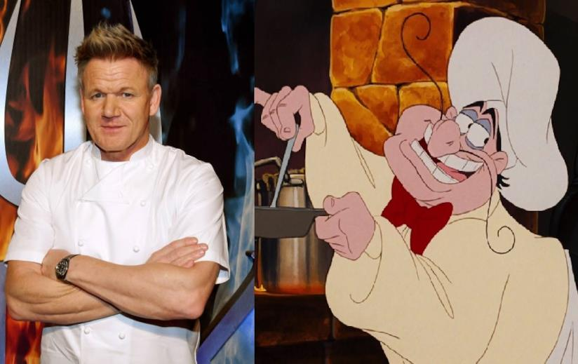 Lo chef Gordon Ramsay