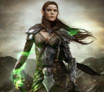 Un'elfa da TES Online