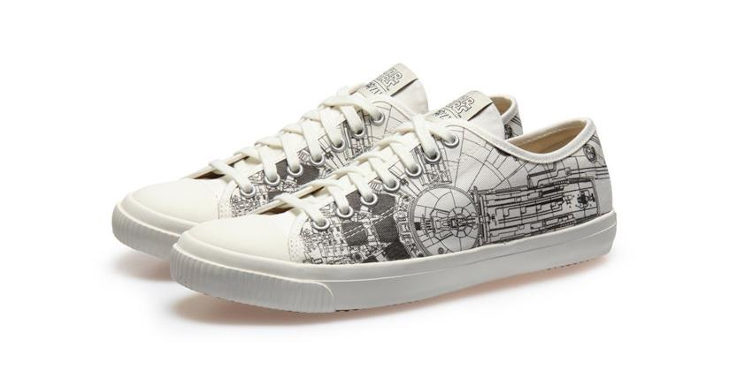 Le sneakers della Millennium Falcon