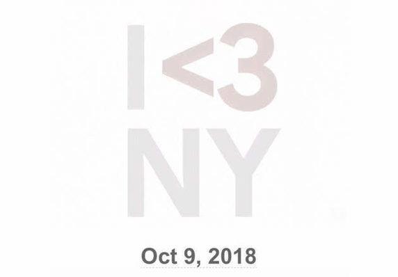 Ecco la pubblicità I <3 NY che annuncia l'evento che si terrà il prossimo ottobre nella Grande Mela.