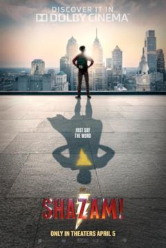 L'ombra di un eroe nel poster di Shazam!