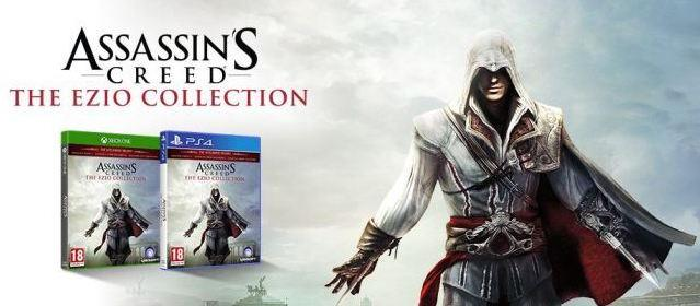 La cover di Assassin's Creed: The Ezio Collection
