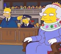 I Simpson: Homer e la Regina